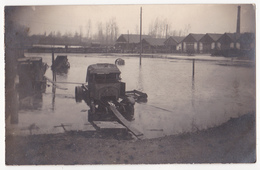Maaseik: Overstroming, 1927. (Fotokaart) - Maaseik