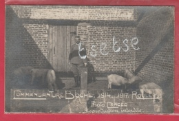Roeselare / Roulers - Commandature Boche 1914 ... 1917  - Fotokaart ( Verso Zien ) - Roeselare