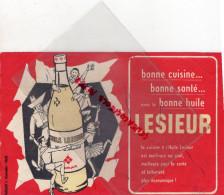 BUVARD - LESIEUR - PUBLICITE Y. ALEXANDRE PARIS- HUILE ARACHIDE - DANSE - Food