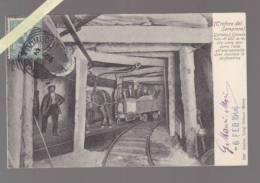 Italie - Traforo Del Sempione - Percement Tunel Sempione - 2007 Wagonnet Tiré Par Un Cheval - Italie