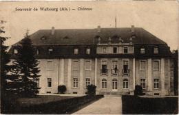 SOUVENIR DE WALBOURG ,CHATEAU (PERSONNAGES AUX FENETRES) REF 47033 - France