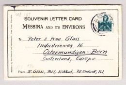 Suid-Afrika 1 1/2 Auf 26.8.1942 Messina 5 Karten Set Mehrfach Zensuriert Ges. Nach Bern - 1 Bild Kupfermine - Lettres & Documents