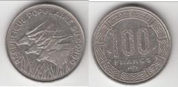 **** CONGO REPUBLIQUE - 100 FRANCS 1975 **** EN ACHAT IMMEDIAT !!! - Congo (Republic 1960)