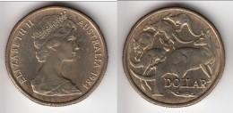 **** AUSTRALIE - AUSTRALIA - 1 DOLLAR 1984 KANGOUROUS - KANGAROOS **** EN ACHAT IMMEDIAT !!! - Decimal Coinage (1966-...)
