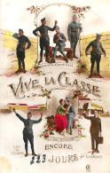 [DC2980]CPA - MILITARI - VIVE LA CLASSE ENCORE 223 JOURS - Non Viaggiata 1927 - Old Postcard - Militari