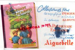 BUVARD CHOCOLAT AIGUEBELLE - LA PROMENADE ENCHANTEE- - Chocolat