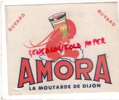21 - DIJON - BUVARD MOUTARDE AMORA - LANGOUSTINE - Alimentaire