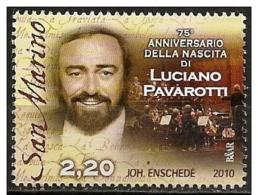 San Marino: Luciano Pavarotti - Cantanti