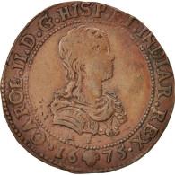 Pays-Bas, Token, Belgium, Charles II, Bruxelles, Bureau Des Finances, 1675 - Pays-Bas