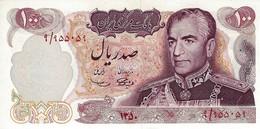 IRAN 100 RIALS 1971 P-98 UNC SIGN. SAMIYEE & AMOOZGAR [IR229a] - Iran