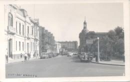 ANTOFAGASTA CHILE AUTOMOBILES CPA VOYAGEE VIAJADA 1953 A BUENOS AIRES - Chili