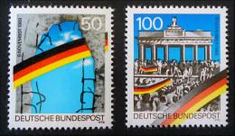 CHUTE DU MUR DE BERLIN 1990 - NEUFS ** - YT 1313/14 - MI 1481/82 - [7] Federal Republic