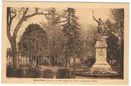 9 SAINT CERE LE MONUMENT AUX MORTS ET LE JARDIN PUBLIC    ****   SUPERBE   A   SAISIR **** - Saint-Céré