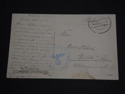 ALLEMAGNE  - Carte Postale En Franchise En 1941 - A Voir - L 65 - Briefe U. Dokumente