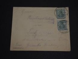 FRANCE / ALLEMAGNE  - Enveloppe De Saaraldorf En 1914 ( Occupation Allemande) - A Voir - L 66 - Storia Postale
