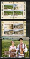 CEPT 2012 MD MI MH 17 MOLDOVA - Europa-CEPT