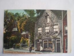 Amsterdam // Schorshuisje En Frankenhuis Aan De Amstelveenscheweg (Melk-Slijterij) 19?? Uitg. Feeterse BH - Amsterdam