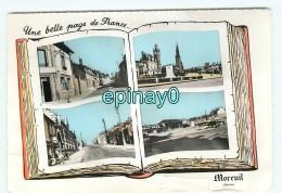 Br - 80 - MOREUIL -  PRIX FIXE  - Vue Sue Le Village - Carte Mutivues - édition Combier - RARE - Moreuil