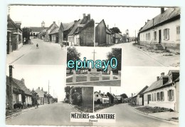 B - 80 - MEZIERES EN SANTERRE -  PRIX FIXE  - Vue Sue Le Village - Carte Mutivues - édition Combier - France