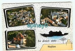 Bddr - 95 - MAFFLIERS - Vue Sur Le Village - Carte Multivues - édition Lapier - RARE - Autres Communes