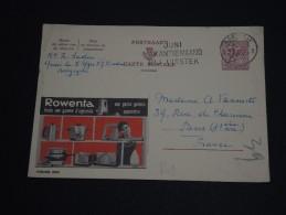 BELGIQUE - Entier Postal Publicité Rowenta Pour  La France En 1965 - A Voir - L 73 - Stamped Stationery