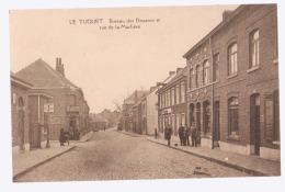 Cpa Le Tuquet  Mouscron  Rue De La Marlière - Mouscron - Möskrön