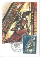 ANDORRE - CARTE MAXIMUM 1er JOUR - N° 223 - RETABLE ST JEAN De CASELLES - Cartes-Maximum (CM)