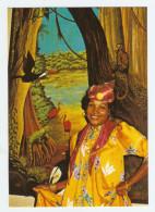 FOLKLORE GUYANE FRANCAISE JEUNE FEMME GAYANAISE EN COSTUME DE TRADITION - NON CIRCULÉE - Guyane