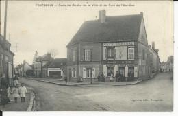 Pontgouin   Rues Du Moulin  Etbdu Pontde L4aumone    Avec Café Central - Other Municipalities