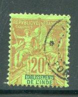 INDE- Y&T N°7- Oblitéré - Indien (1892-1954)