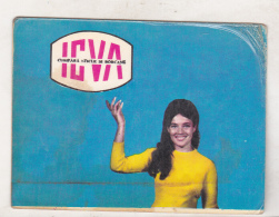 Romanian Small Calendar - 1971 - ICVA - Calendarios