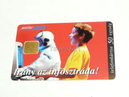 Astronaut Computer Telefonkarte Phonecard Hungary - Schede Telefoniche