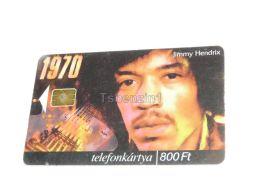 Jimmy Hendrix Telefonkarte Phonecard Hungary - Musica