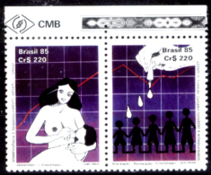 Brasile-223 - 1985 - Y&T N. 1738/1739 (++) MNH - Privi Di Difetti Occulti - - Neufs