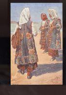 T288 ILLUSTRATED CUSTOMS OF DALMAZIA / NARODNE NOSNJE SREDNJE DALMACIJE (PEINT PAR A. KASPAR, SERIJA II) - Dogana