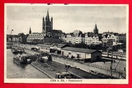 Cöln Am Rhein. Frankenwerft. Feldpost Vereinslazarett Leverkusen.  Avril 1915 - Koeln