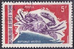 Costa D'Avorio, 1971/72 - 5f Neptunus Validus - Nr.302 Usato° - Costa D'Avorio (1960-...)