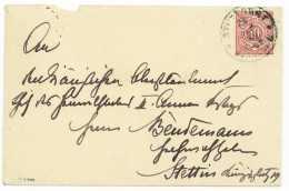 Friedrich Bertram SIXT VON ARMIN (1851-1936) - Deutscher General - Stuttgart - Stettin 1900 - Autographes