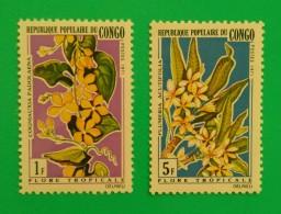 CONGO 1971. FLORA - FLORES. NUEVO - MNH ** - Planten
