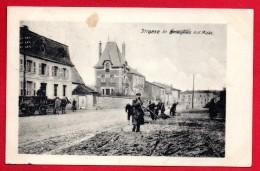 55. Brieulles Sur Meuse. Soldats Allemands Nettoyant Une Rue. Feldpost Camouflé Juillet 1917. Feldpostkarte - Sonstige Gemeinden