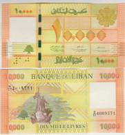 Lebanon 10000 Livres  2013 Pick 92 UNC - Liban