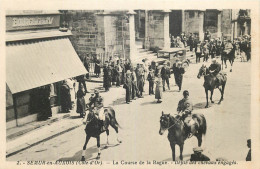 21 - COTE D´OR - Semur - Course De La Bague - Défilé Des Chevaux Engagés - Semur