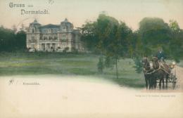 DE DARMSTADT / Rosenhöhe / CARTE COULEUR - Darmstadt
