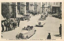 21 - COTE D´OR - Semur - Course De La Bague - Cortège Officiel - Automobile - Semur
