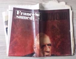 Journal Mort Du Général De Gaulle - France Soir Souvenir Du 16 Novembre 1970. - Newspapers