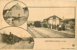 21 - COTE D'OR - Saint Seine L'Abbaye - Gare - Chemin De Fer - Train - France