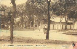 Conakry - Avenue Du Gouvernement - Mission Des Soeurs - Edition H.G.F. - Missions
