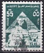 Egitto, 1974 - 55m Sphinx And Middle Pyramid - Nr.900 Usato° - Egitto