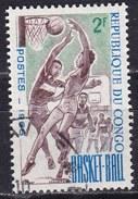 Congo, 1966 - 2f Women's Basketball - Nr.144 Usato° - Congo - Brazzaville