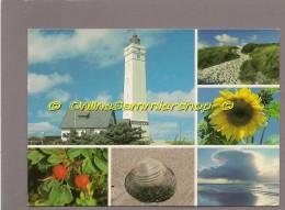 Dänemark   - AK - Leuchtturm Phare Lighthouse  - Blavand - Leuchttürme